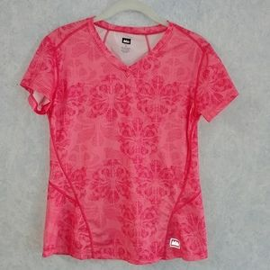 REI active V-neck top Small